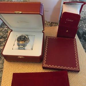 Cartier Calibre De Cartier Watch; Papers and Box